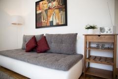 Wohnzimmer-Schlafsofa